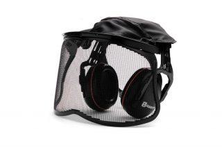 Premium Earmuff with Mesh Visor